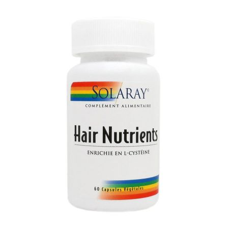 Hair Nutrients Solaray 60 capsules