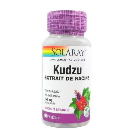 Kudzu 150 mg Solaray 60 capsules