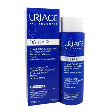 DS Hair shampooing traitant antipelliculaire Uriage 200 ml