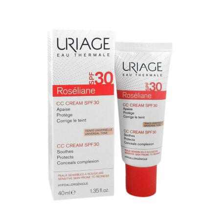 Roséliane CC cream SPF30 Uriage 40ml