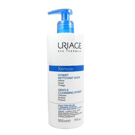 Xémose Syndet Nettoyant Doux Uriage 500ml