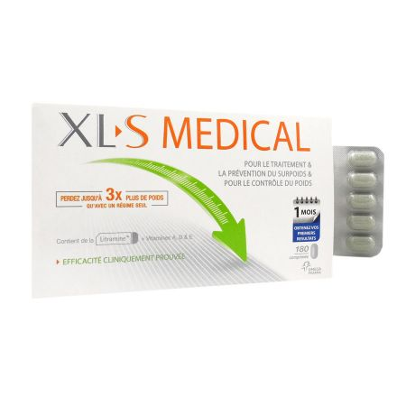 XLS Medical 180 comprimés