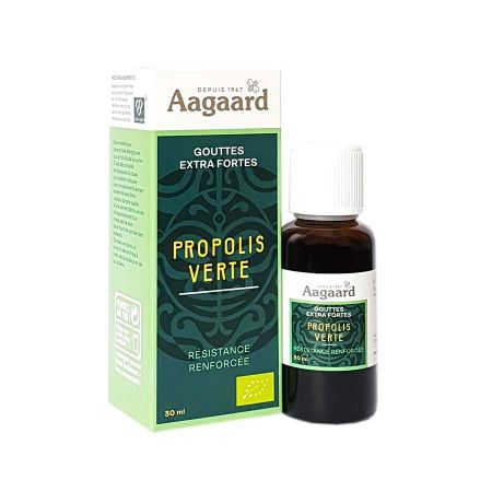 Propolis verte Aagaard gouttes extra fortes 30ml