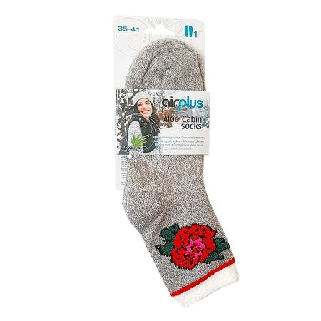 Chaussettes Airplus rose rouge