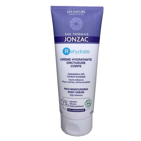 Crème corps Rehydrate Jonzac hydratante onctueuse 200ml