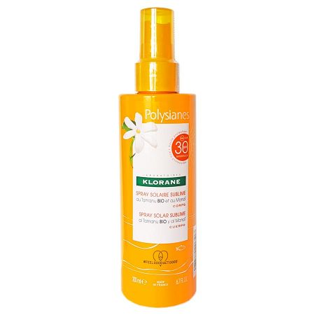 Spray solaire sublime SPF30 Polysianes 200ml