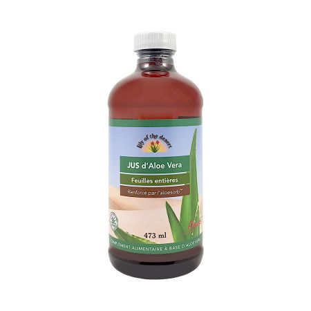 Jus d\'Aloe Vera Lily of the Desert 473ml