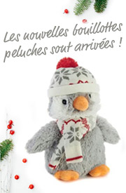 Bouillottes peluches