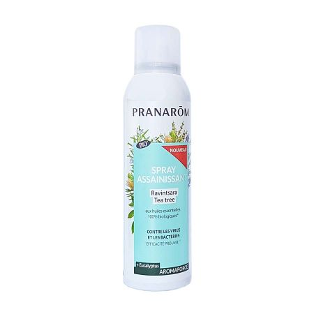 Spray assainissant Ravintsara Tea Tree Pranarom 150 ml
