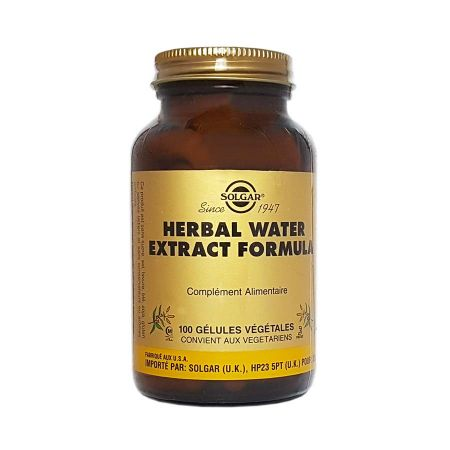 Herbal Water Extract Formula Solgar 100 gélules