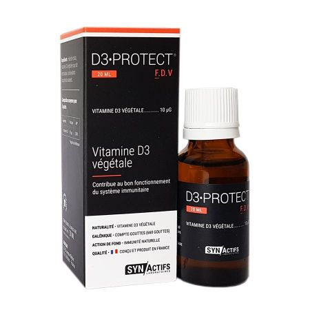 D3 Protect FDV SynActifs 20 ml