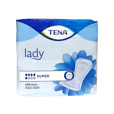 Tena Lady (5G) Super 30 serviettes