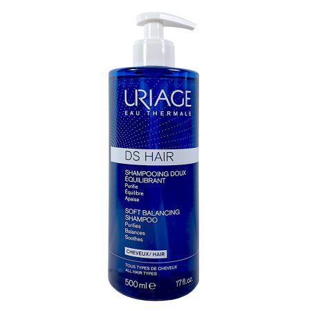 Shampooing doux équilibrant DS Hair Uriage 500 ml