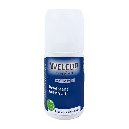 Déodorant roll-on pour homme Weleda 50ml