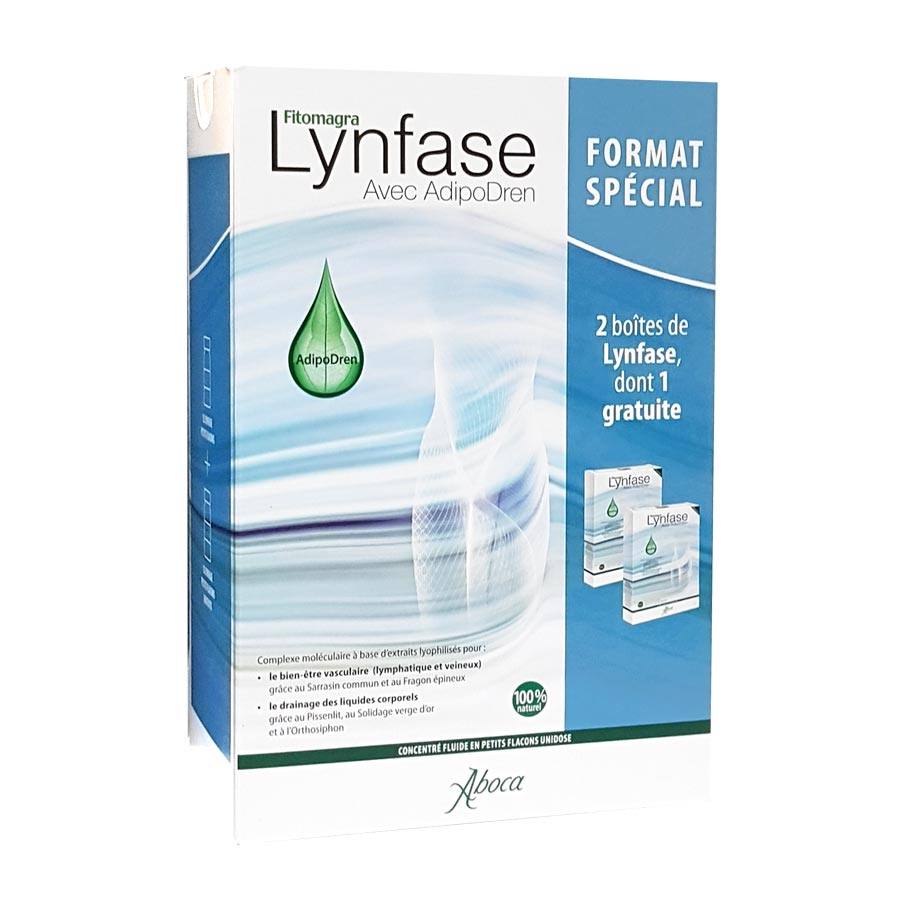Aboca Fitomagra Lynfase 12 unidoses Offre Spéciale