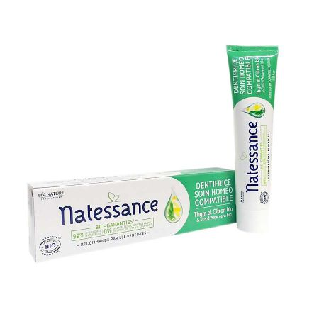 Dentifrice Natessance soin homéo compatible 75ml
