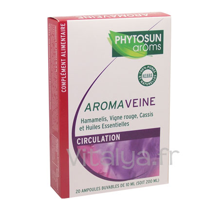 Aromaveine Circulation Phytosun Aroms 20 Ampoules