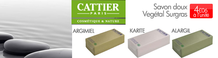 CATTIER SAVON BIO