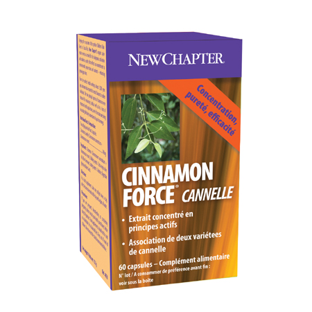 Cinnamon Force New Chapter 60 Capsules