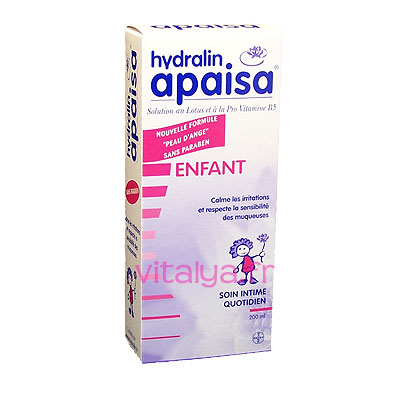Hydralin Apaisa Enfant Soin Intime Quotidien 200 ml
