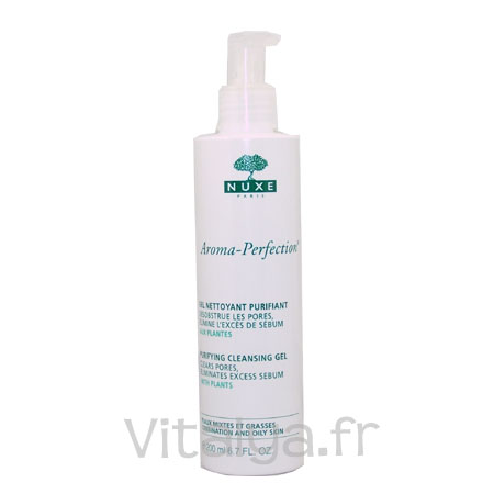 Nuxe Aroma-Perfection Gel Nettoyant Purifiant 200ml