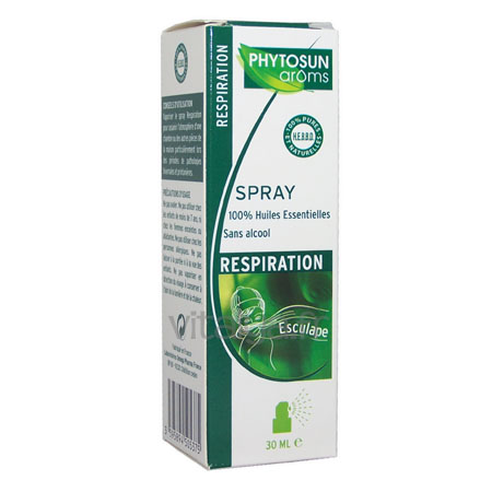 Phytosun Arôms Spray Respiration Esculape 30ml