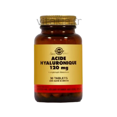 Acide Hyaluronique Solgar - parapharmacie Vitalya