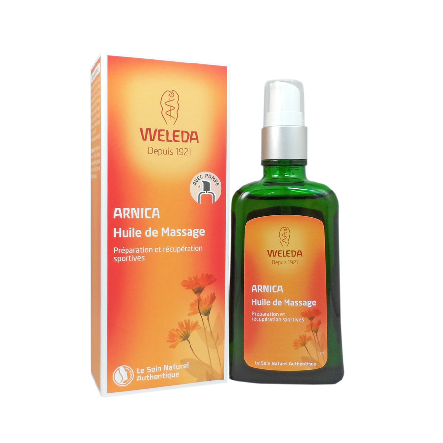 weleda huile arnica utiliser en massage en 100ml. Black Bedroom Furniture Sets. Home Design Ideas
