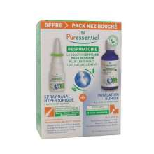 Puressentiel pack nez bouché spray nasal + inhalation