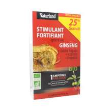 Stimulant fortifiant Naturland 20 ampoules