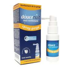 Spray gorge anti-ronflement Doucenuit 23,5 ml