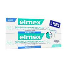 Dentifrice Sensitive Professional Blancheur Elmex lot de 2