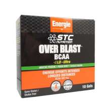 STC Nutrition Gel Over Blast BCAA menthe