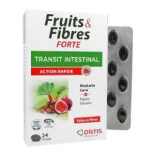 Fruits & Fibres Forte transit intestinal action rapide