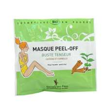secrets des fees masque peel-off buste tenseur