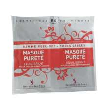 secrets des fees masque purete equilibrant peel off