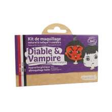 kit maquillage 3 couleurs diable vampire namaki
