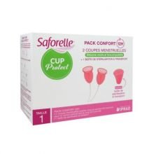 saforelle cup protect coupes menstruelles taille 1
