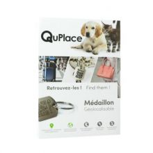 medaillon geolocalisable quplace