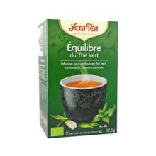 yogi tea infusion equilibre the vert