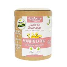 Huile de bourrache bio Nat & Form Eco-Responsable 120 gélules