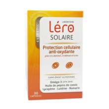 Lero Solaire protection cellulaire anti-oxydante 30 capsules LOT