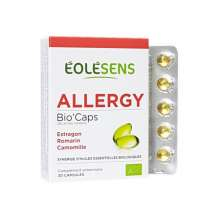 Association d'huiles essentielles eolesens biocaps allergy
