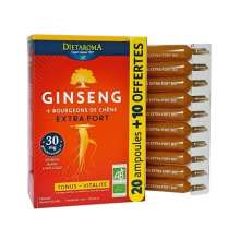 Ginseng Extra Fort Dietaroma offre spéciale 30 ampoules