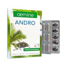Oemine Andro 30 Gélules + 30 Capsules