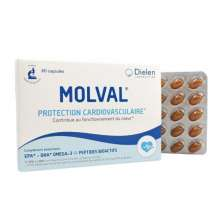 Molval Oméga 3 Protection Cardiovasculaire 60 capsules