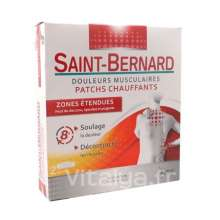 Saint-Bernard Patchs Chauffants Zones Etendues 2 Patchs