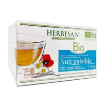 Infusion Bio Nuit Paisible Herbesan 20 sachets