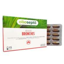Bronches Olioseptil 15 gélules
