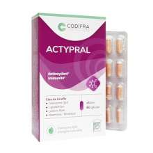 Actypral Codifra 60 Gélules